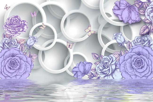 简单手绘梅花展示