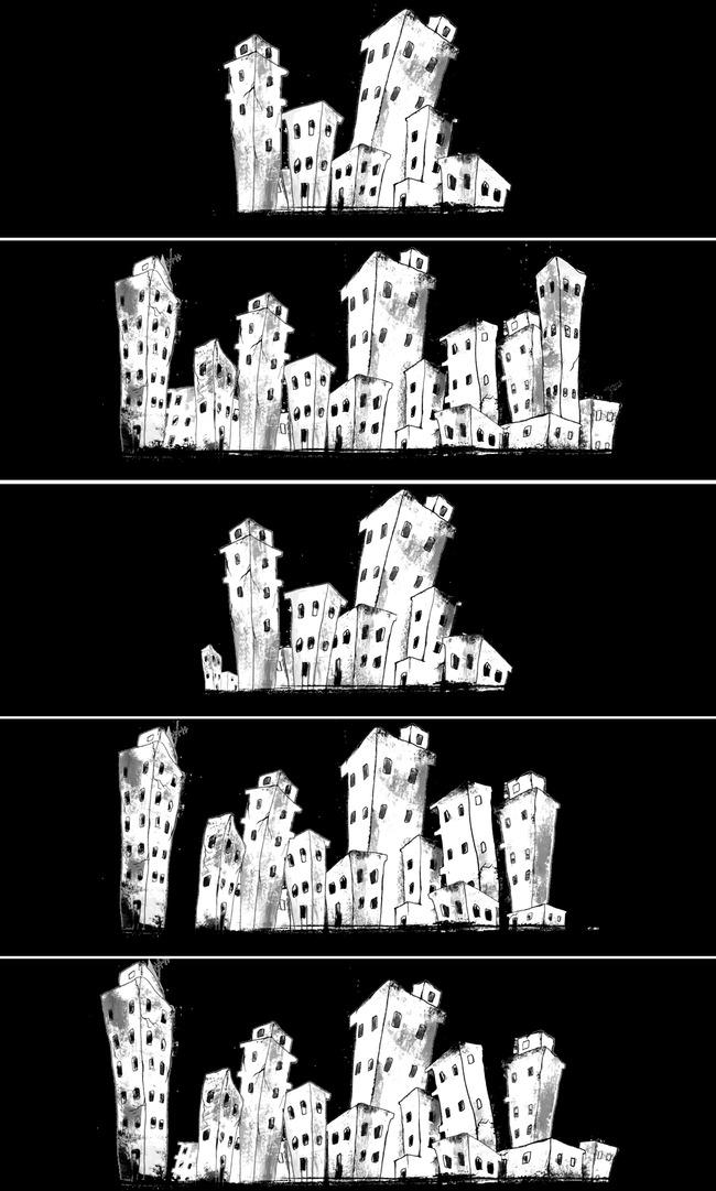 亲子舞蹈卡通背景图