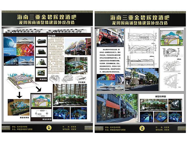 毕业展板模版设计模板下载(图片编号:13525207)_学校