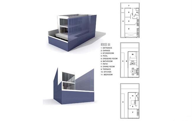 loft办公建筑和设计图纸3d模型