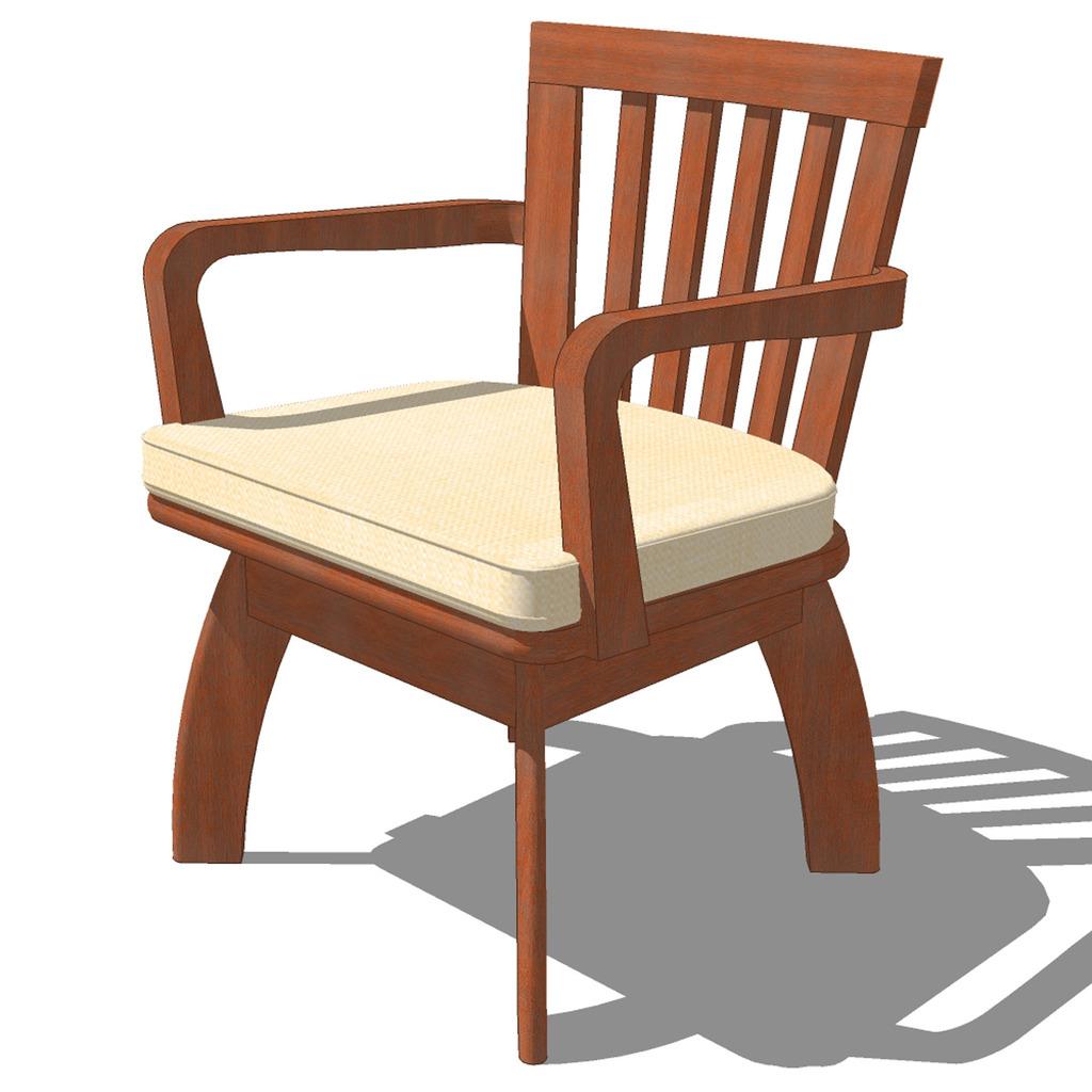 中式古典座椅012图片