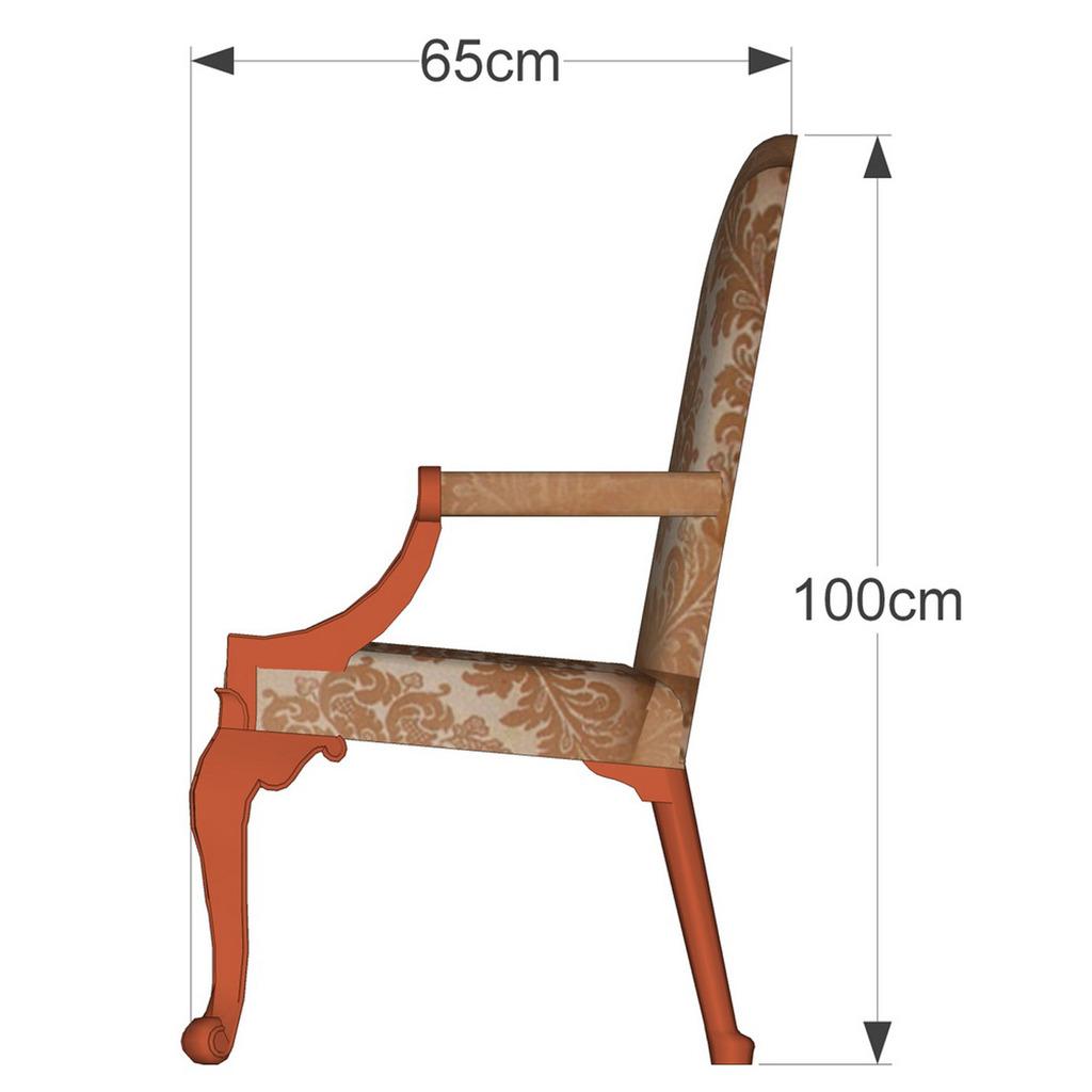 中式古典座椅028图片
