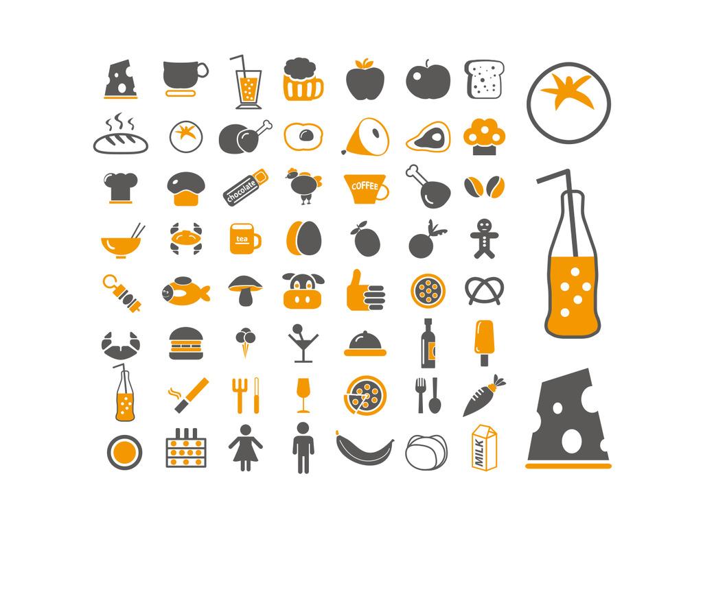 美食 美食设计 餐饮餐饮设计 美食卡通 美食图标 美食logo 餐饮图标图片