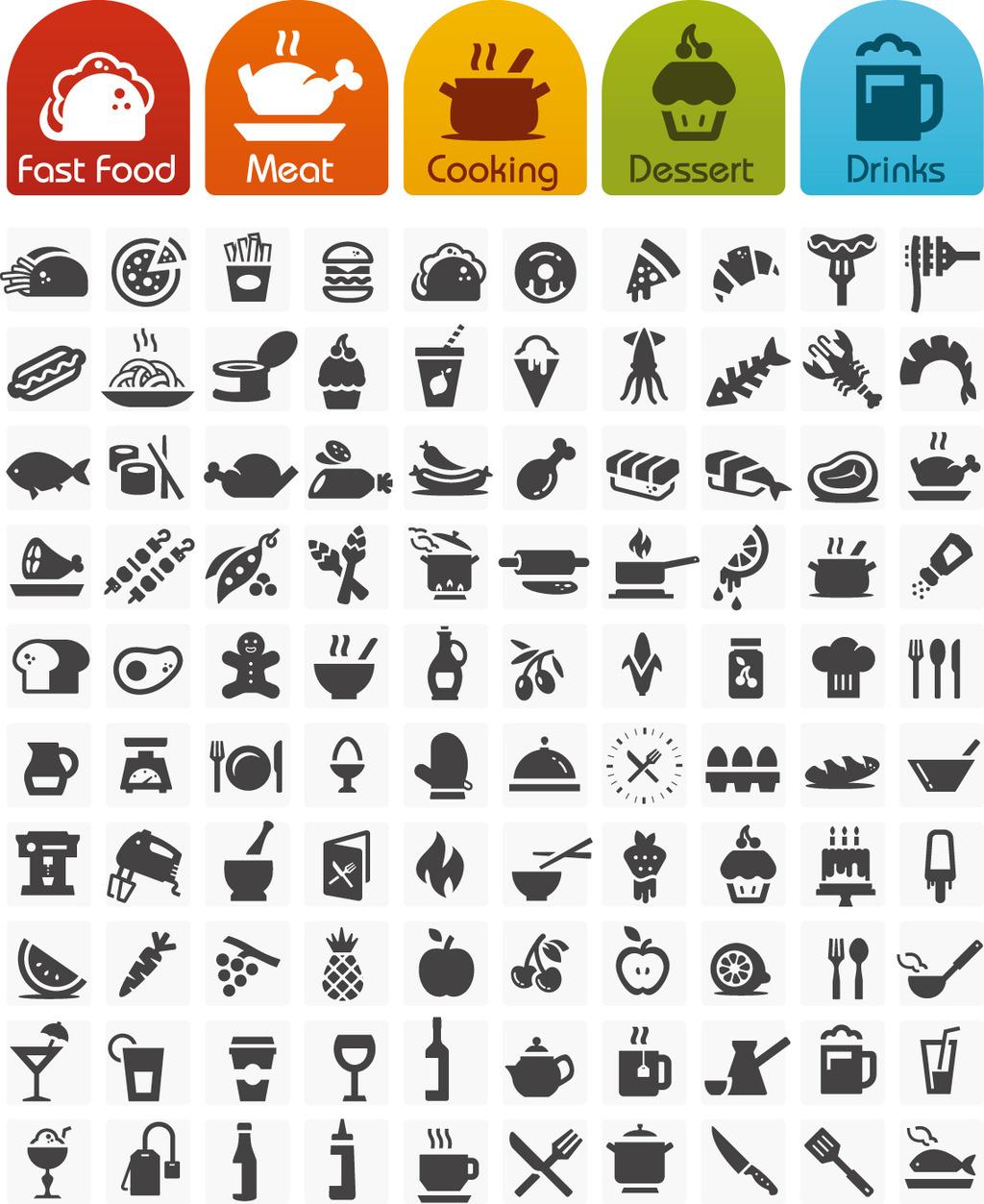 餐饮食物图标图标图片