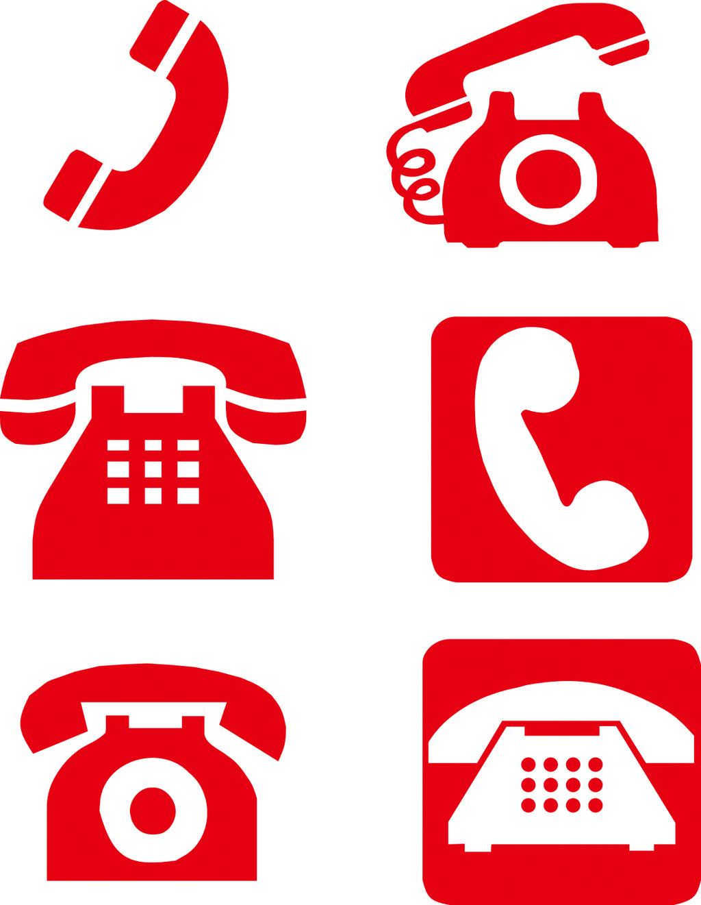 电话图标设计图片下载矢量电话 电话矢量素材 电话标识电话标志热线