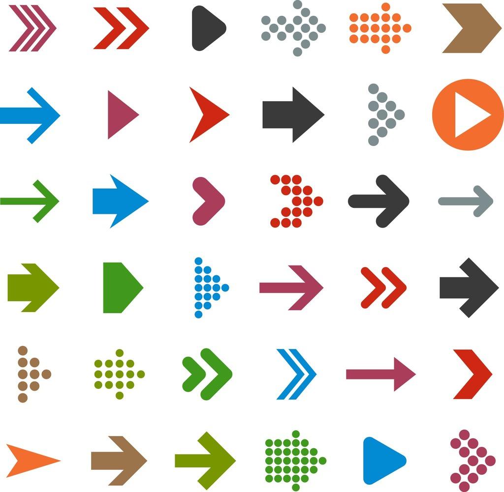 36款箭头图标设计