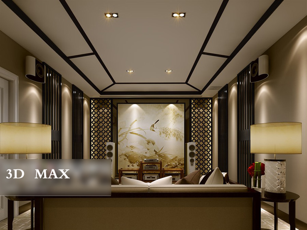 3d模型 室内设计3d模型 家装模型 > 中国风客厅  下一张&gt