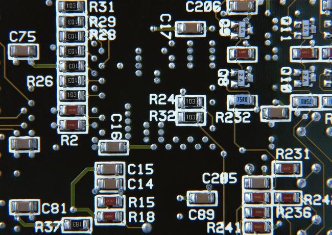 集成电路板现代精密电子科技