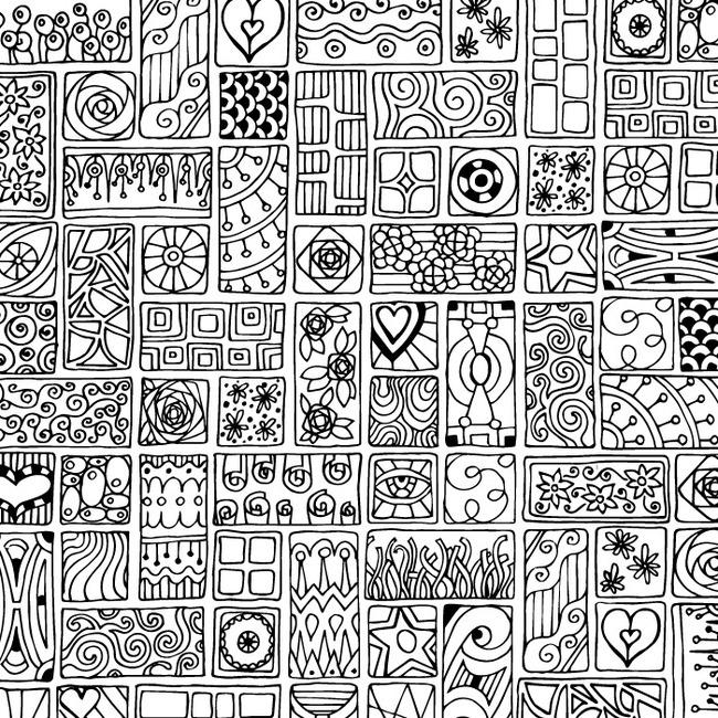 圆点 波点 星形 不规则图形 条纹 艺术 工笔 手绘 花纹 植物花纹 几何