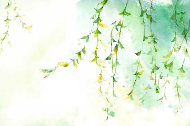 时尚手绘花卉