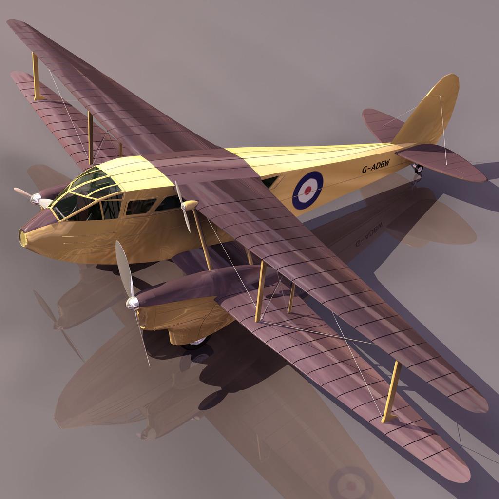 rapide飞机3d模型下载