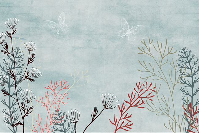 现代简约海草地中海壁画高清图片下载(图片编号)现代图片