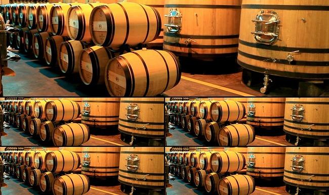 红酒葡萄酒木酒桶