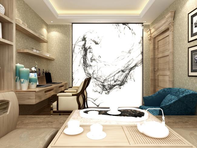 室内装修效果图(含cad)模板下载 室内装修效果图(含cad)图片下载 整套