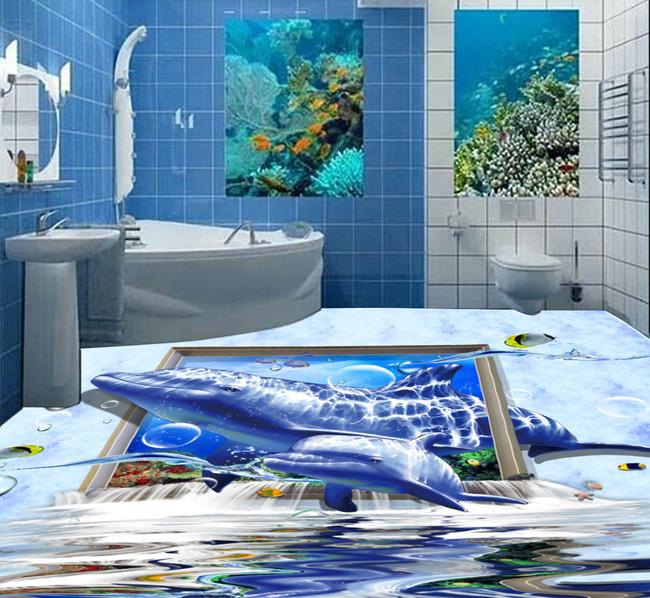海洋世界3d地板