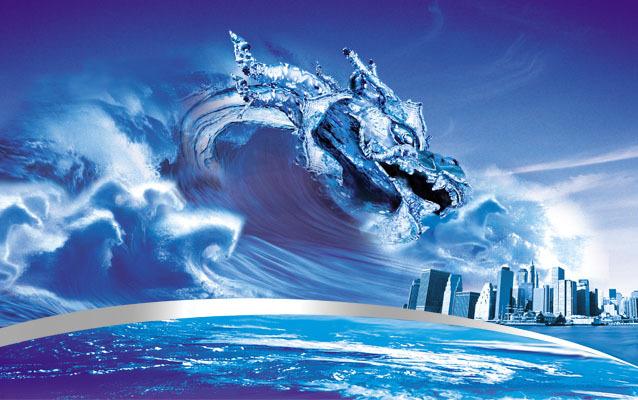 浴室海浪3d地板高清图片下载(图片编号13602139)海洋
