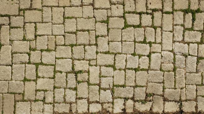 砖石路面地面砖墙面古建筑地板