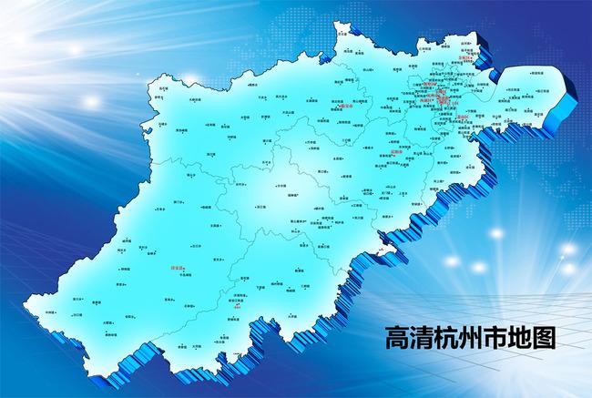 杭州市地图