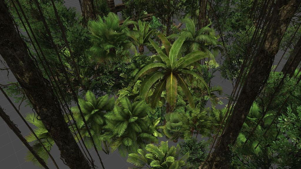 3d模型 cg模型 场景模型 > 茂密森林树林写实精致超30种树木