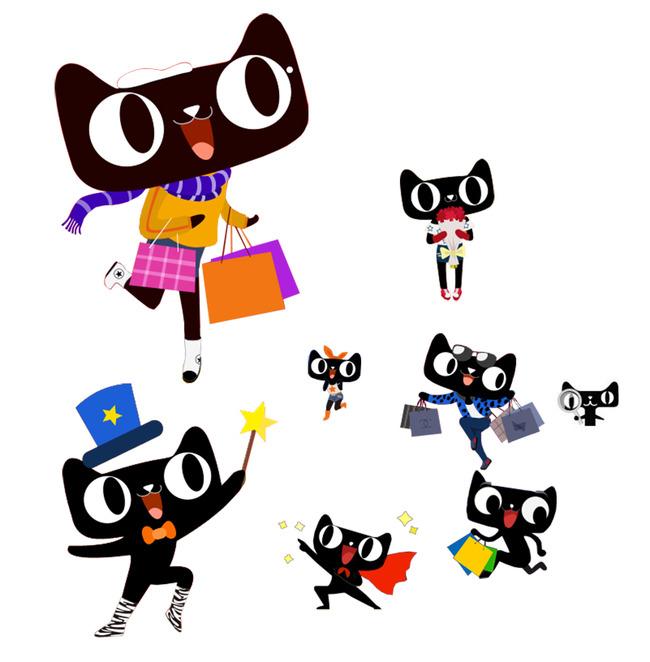 天猫2015卡通模板天猫卡通形象模板下载(图片编号:)