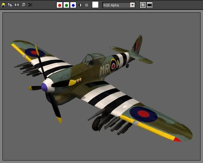 军事飞机空军战斗机模型05