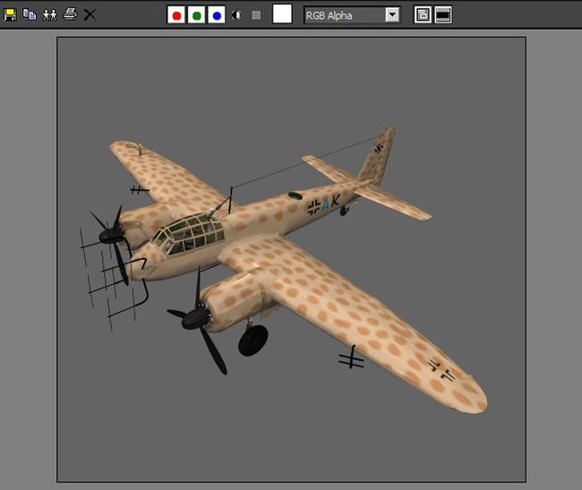 军事飞机空军战斗机滑翔器模型23
