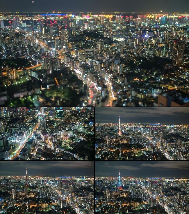 日本东京宣传片_日本东京城市夜景航拍视频036图片下载宣传片素材 美丽的城市 航拍