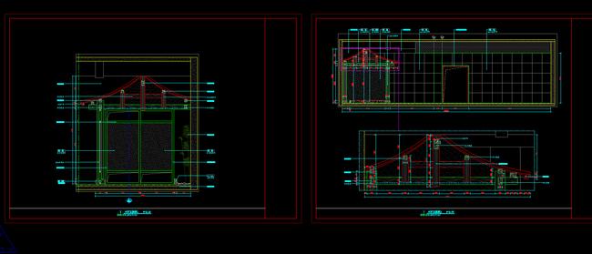 cad中式梁柱结构模板下载(图片编号:13635870)