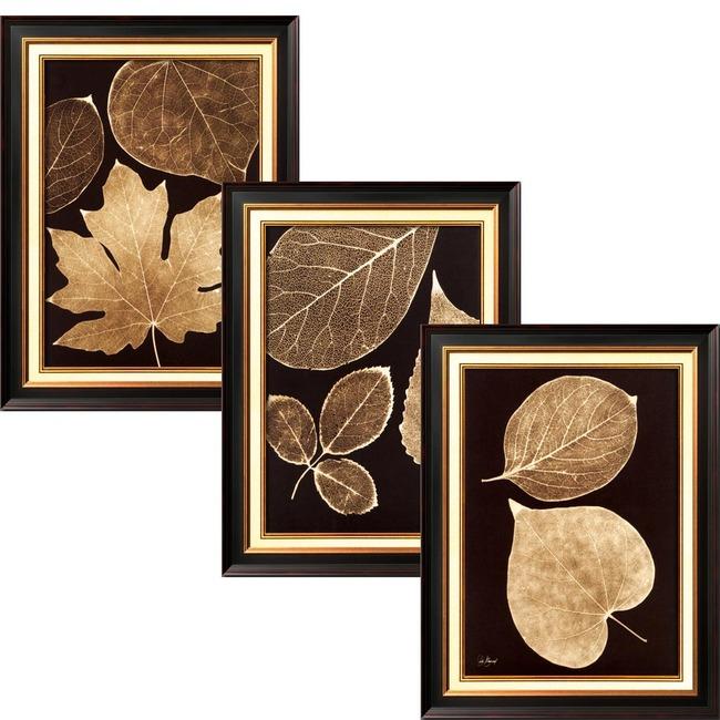 透明花透明树叶装饰画素材