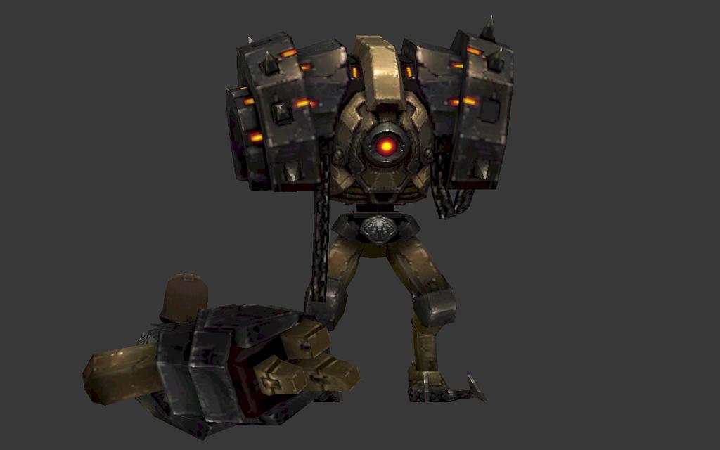 cg机器人游戏模型下载