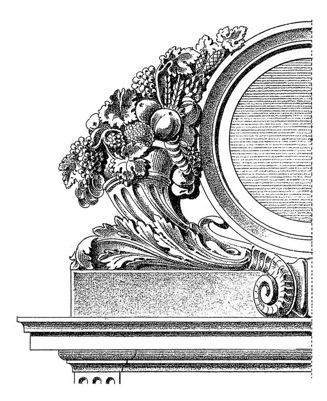 欧式装饰浮雕造型美术手绘雕刻