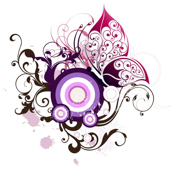 花纹素材 欧式花纹