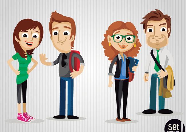 卡通人物模板下载 卡通人物图片下载多款
