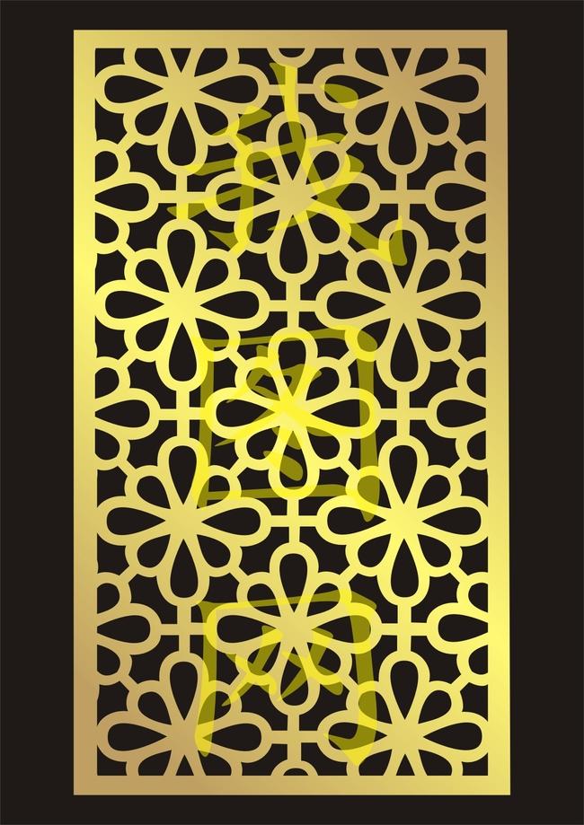 玻璃镂空雕花 镂空花纹 玻璃镂空花纹 镂空花格板 底纹边框 花边花纹
