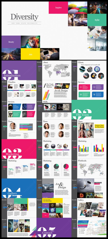 设计公司团队介绍企业简介ppt模板