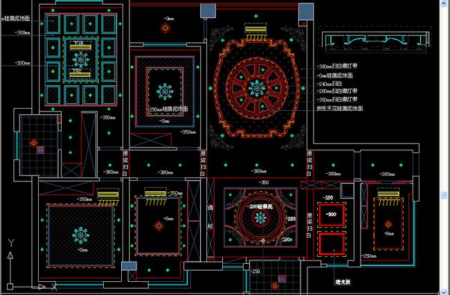 别墅全套设计施工图纸模板下载(图片编号:13715135)
