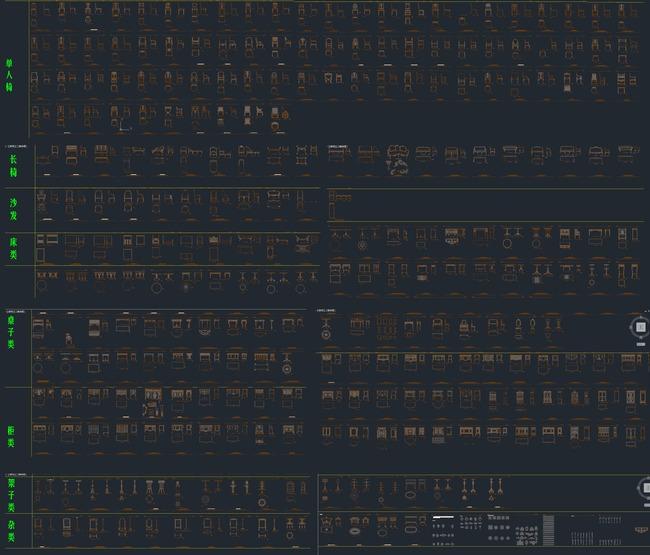 AD图模板下载(图纸编号:13718401)_床图纸_家cad量工程量图片中怎么图片