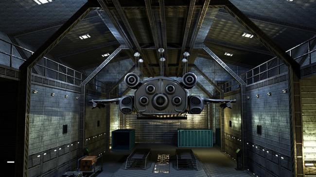 科幻仓库机械场景元素模板下载(图片编号:13781783)