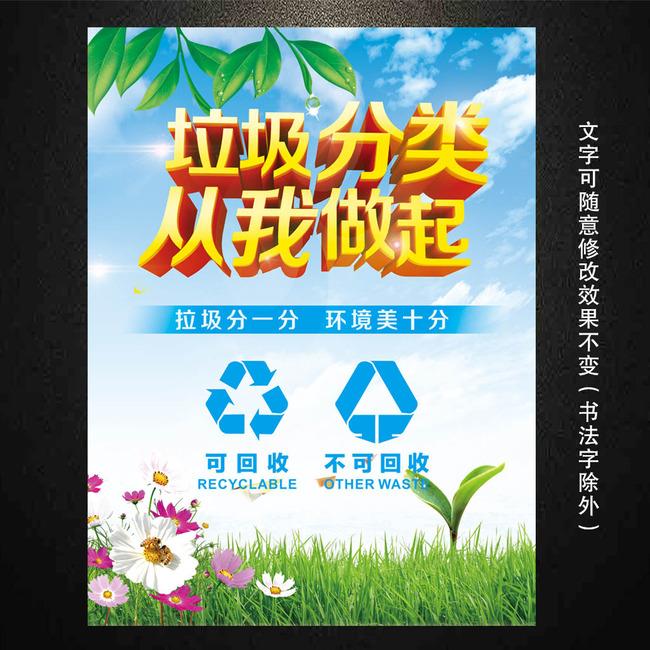 平面设计 海报设计 其他海报设计 > 垃圾分类海报图片  找相似 下一张