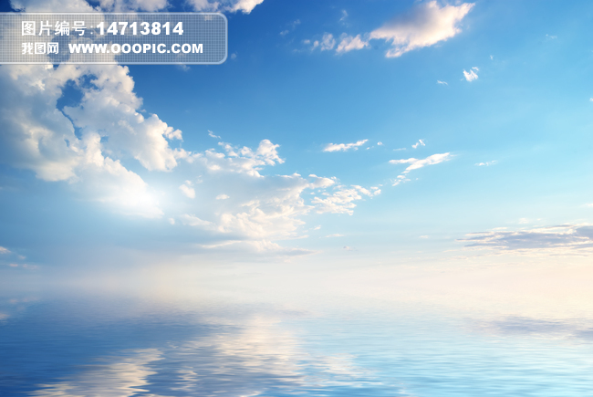 蓝天白云天空吊顶棚顶背景墙壁画2图片素材