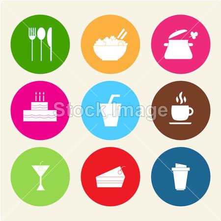 食物图标摄影图片下载_中式菜肴_美食饮料_拍图网图片