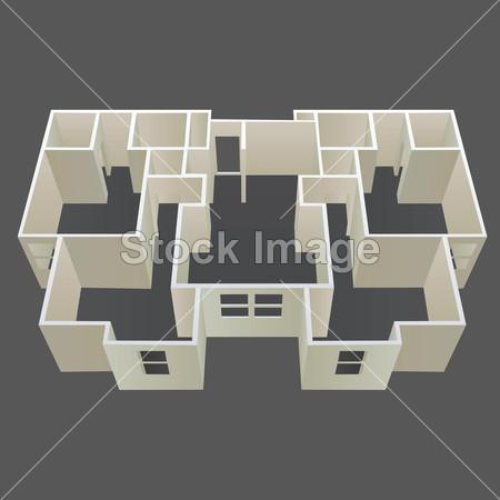 >体系结构的房子计划