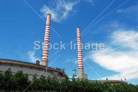 >火力发电站-煤