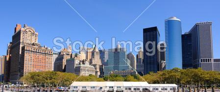 纽约市 摩天大楼 办公楼 建筑/建筑炮台公园建筑城市景观金融区地标曼哈顿 纽约市办公楼...