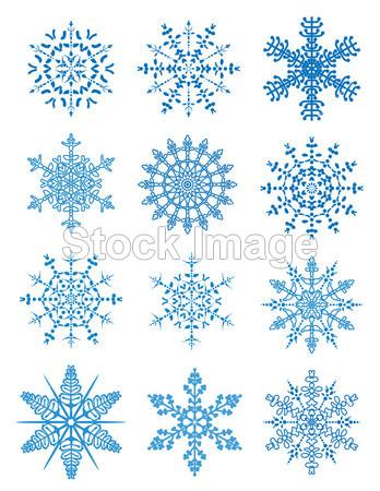 图形 问候 插图 一月 纳塔尔 自然 季节性的 形状 剪影 雪 雪花 符号