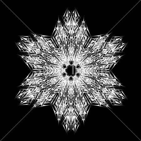 对称剪雪花步骤图解
