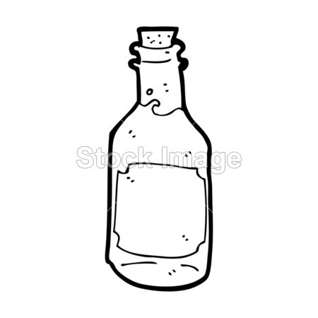 > 卡通朗姆酒瓶