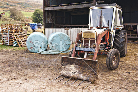 拖拉机摄影图片下载_工农业