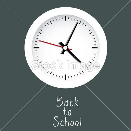 箭 回来 背景 黑色的 特征 时钟 学院 概念 可爱的 夜 事件 图形 绿