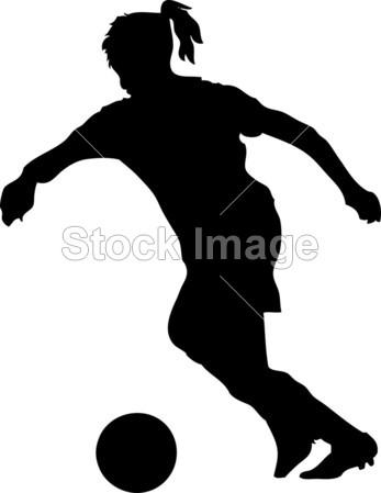 >女子足球运动员